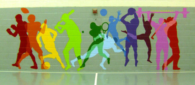 gym-mural